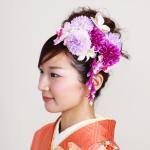 キレイになりたい!結婚式の和装の髪型に合う生花を選ぶポイント