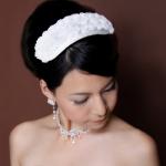 スタイリスト直伝!花嫁に人気のウェディングヘッドドレス6選